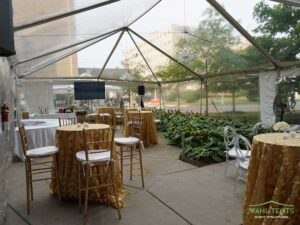 clear span tent structures