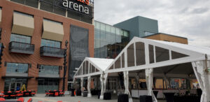 clear span tents for corporate events