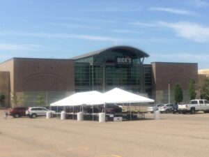 tents for corporate events detroit