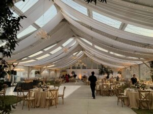 60' wide ClearSpan with an alternating clear and solid roof