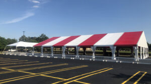 White Top Frame Tent
