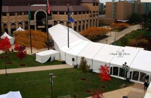 ClearSpan structure for WSU's 150th anniversary event