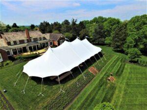 sailcloth pole tents